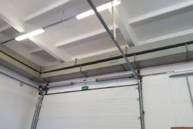 Ворота промышленные подъёмно-секционные Doorhan серии ISD01 в Пикалёво фото 6 после