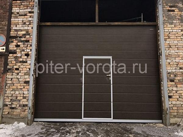 Промышленные подъёмно-секционные ворота
