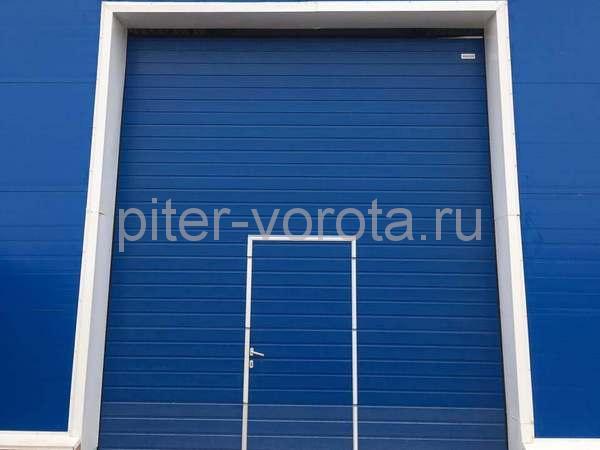 Гаражные подъёмно-секционные ворота в Свердлово
