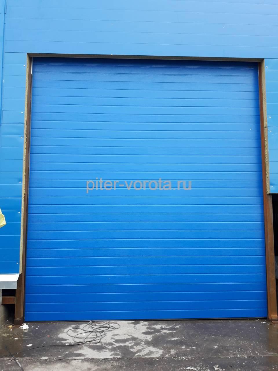 Промышленные подъёмно-секционные ворота Doorhan ISD01 в Мурино