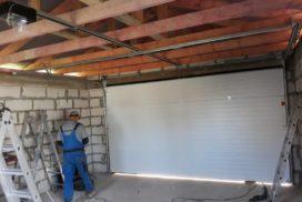 Гаражные подъёмно-секционные ворота DoorHan RSD02 в Никольском, фото 3
