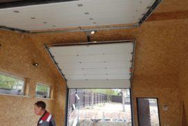 Ворота гаражные подъёмно-секционные Alutech Classic в Семиозёрье фото 3