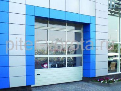 Промышленные секционные ворота DoorHan ISD02 2000 х 3000