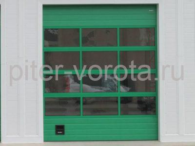 Промышленные секционные ворота DoorHan ISD02 6000 х 6100