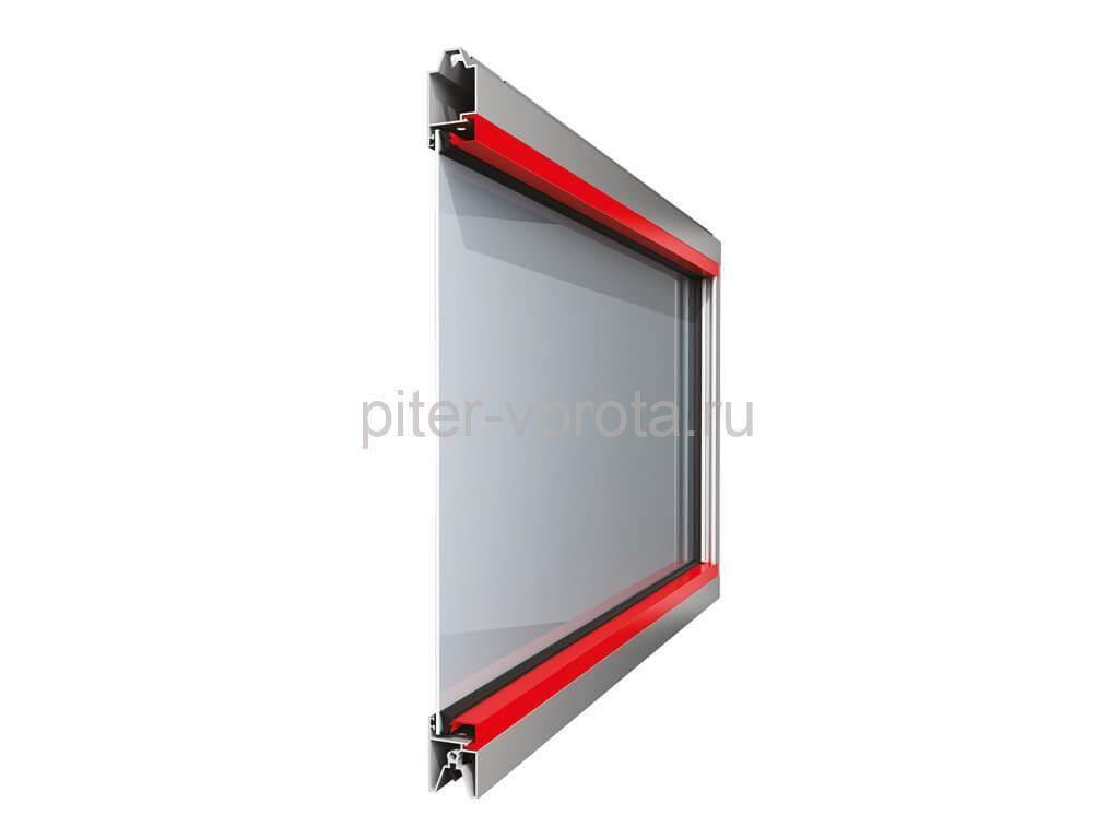 Панорамная панель с однослойным стеклом