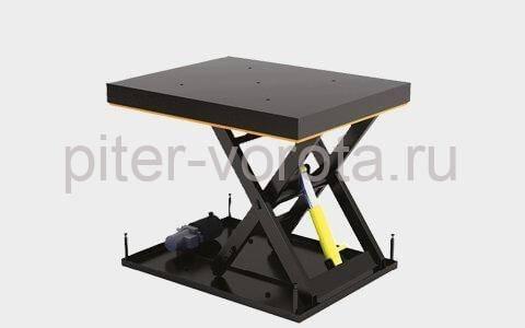 Подъемный стол с одной парой ножниц