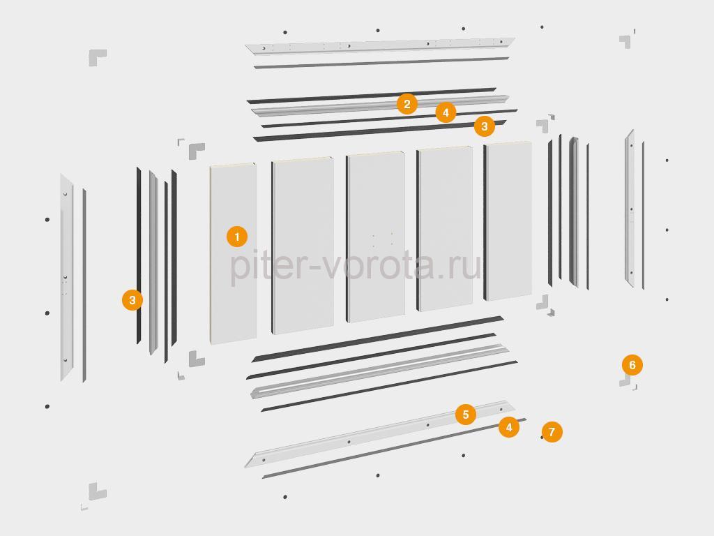 Конструкция вентиляционного клапана для овощехранилищ