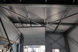 Два комплекта гаражных подъёмно-секционных ворот на пр. Александровской Фермы, фото 4