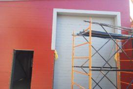 Два комплекта гаражных подъёмно-секционных ворот на пр. Александровской Фермы, фото 6