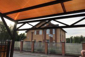 Гаражные подъёмно-секционные ворота Alutech Classic (премиум) в Зеленогорске, фото 5