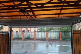 Гаражные подъёмно-секционные ворота Alutech Classic (премиум) в Зеленогорске, фото 2