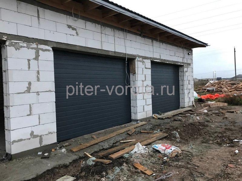 Гаражные подъёмно-секционные ворота Doorhan RSD02 в Санино