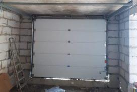 Гаражные подъёмно-секционные ворота Alutech Prestige в Кискелово, фото 3