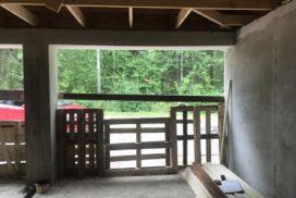 Гаражные подъёмно-секционные ворота Alutech Prestige в Красницах, фото 6