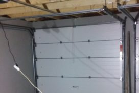 Гаражные подъёмно-секционные ворота Alutech Prestige в Красницах, фото 3