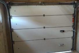 Гаражные подъёмно-секционные ворота Alutech Prestige в Мендсарах, фото 2