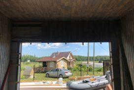Ворота гаражные подъёмно-секционные Alutech Prestige в Удальцово, фото 3