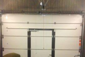 Ворота гаражные подъёмно-секционные Alutech Prestige в Удальцово, фото 2