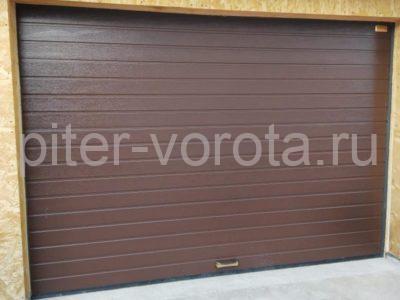 Ворота гаражные подъёмно-секционные Alutech Prestige в Выборге, фото 1