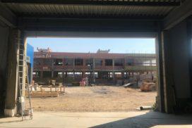 Промышленные подъёмно-секционные ворота Alutech ProPlus в Шушарах, фото 5