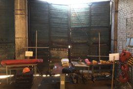 Промышленные подъёмно-секционные ворота Alutech Protrend в Приветнинском, фото 8