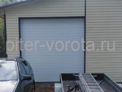 Гаражные подъёмно-секционные ворота Alutech Trend в Коммунарах, фото 1