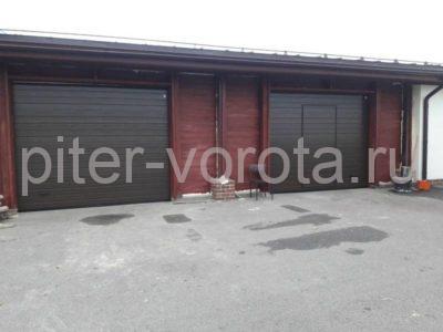 Гаражные подъёмно-секционные ворота Alutech Classic в Медовом, фото 1