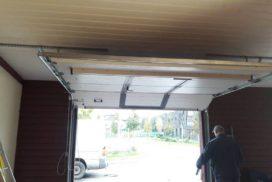 Гаражные подъёмно-секционные ворота Alutech Classic в Медовом, фото 2
