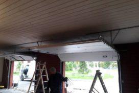 Гаражные подъёмно-секционные ворота Alutech Classic в Медовом, фото 3
