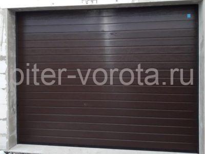 Гаражные подъёмно-секционные ворота Alutech Classic в Смольном, фото 1