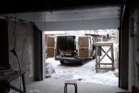 Гаражные подъёмно-секционные ворота Alutech Classic в Смольном, фото 2