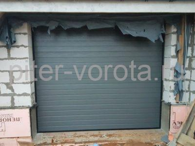 Гаражные подъёмно-секционные ворота Alutech Classic в Токсово, фото 1
