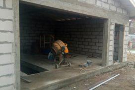 Гаражные подъёмно-секционные ворота DoorHan RSD02 в д. Волковицы, фото 2