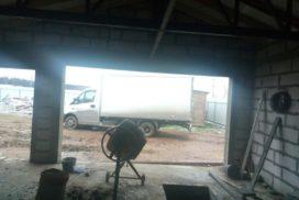 Гаражные подъёмно-секционные ворота DoorHan RSD02 в д. Волковицы, фото 3