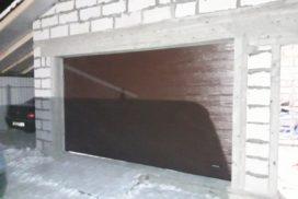 Гаражные подъёмно-секционные ворота DoorHan RSD02 в д. Волковицы, фото 6