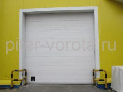 Промышленные секционные ворота DoorHan ISD01 6000 х 2000
