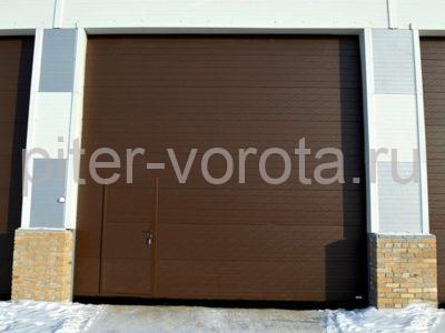 Промышленные секционные ворота DoorHan ISD01 5000 х 3000
