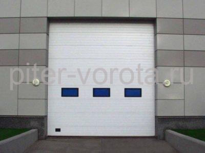 Промышленные секционные ворота DoorHan ISD02 3000 х 6100