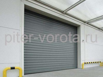 Промышленные секционные ворота DoorHan ISD01 2000 х 5000