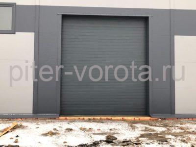 Промышленные подъёмно-секционные ворота DoorHan ISD01 в Коммунаре, фото 1