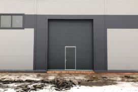 Промышленные подъёмно-секционные ворота DoorHan ISD01 в Коммунаре, фото 2