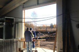 Промышленные подъёмно-секционные ворота DoorHan ISD01 в Корабицино, фото 6