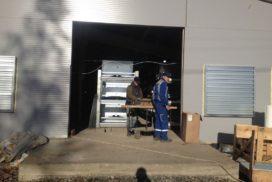 Промышленные подъёмно-секционные ворота DoorHan ISD01 в Корабицино, фото 8