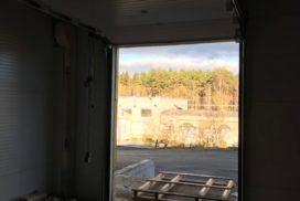 Промышленные подъёмно-секционные ворота DoorHan ISD01 в Корабицино, фото 4