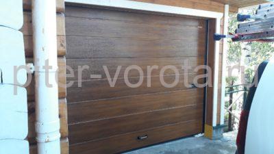 Ворота гаражные подъёмно-секционные DoorHan RSD01, фото 1