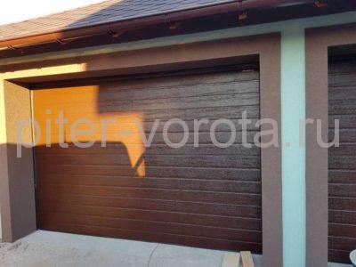 Гаражные подъёмно-секционные ворота Doorhan RSD01 в Турышкино, фото 1