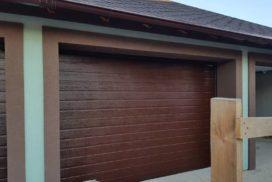 Гаражные подъёмно-секционные ворота Doorhan RSD01 в Турышкино, фото 2