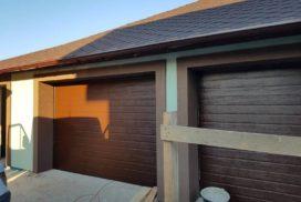 Гаражные подъёмно-секционные ворота Doorhan RSD01 в Турышкино, фото 3