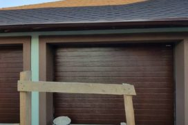 Гаражные подъёмно-секционные ворота Doorhan RSD01 в Турышкино, фото 4
