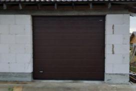 Ворота гаражные подъёмно-секционные DoorHan RSD02 в Агалатово, фото 2